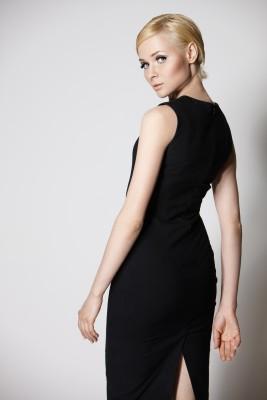 wardrobe basics - A simple dress is a great blank canvas ...