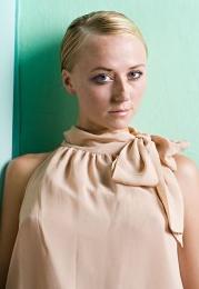 Classic sleeveless silk blouse
