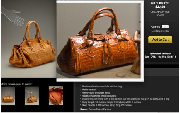 Diana Gascon Croc Satchel Bag $1,800 |  Carlos Falchi $4,995 Croc Satchel Bag
