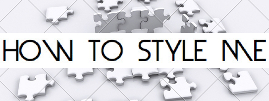 HOW TO STYLE ME FINAL BANNER w: 3D puzzle background