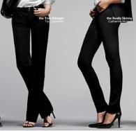 Straight and skinny pants
