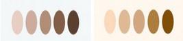 Color me Beautiful - Find your skin tone - Cool skin tone / Warm skin tone
