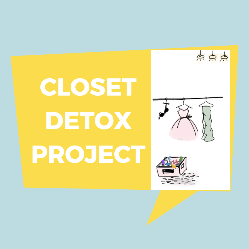 Closet Detox Project on Etsy